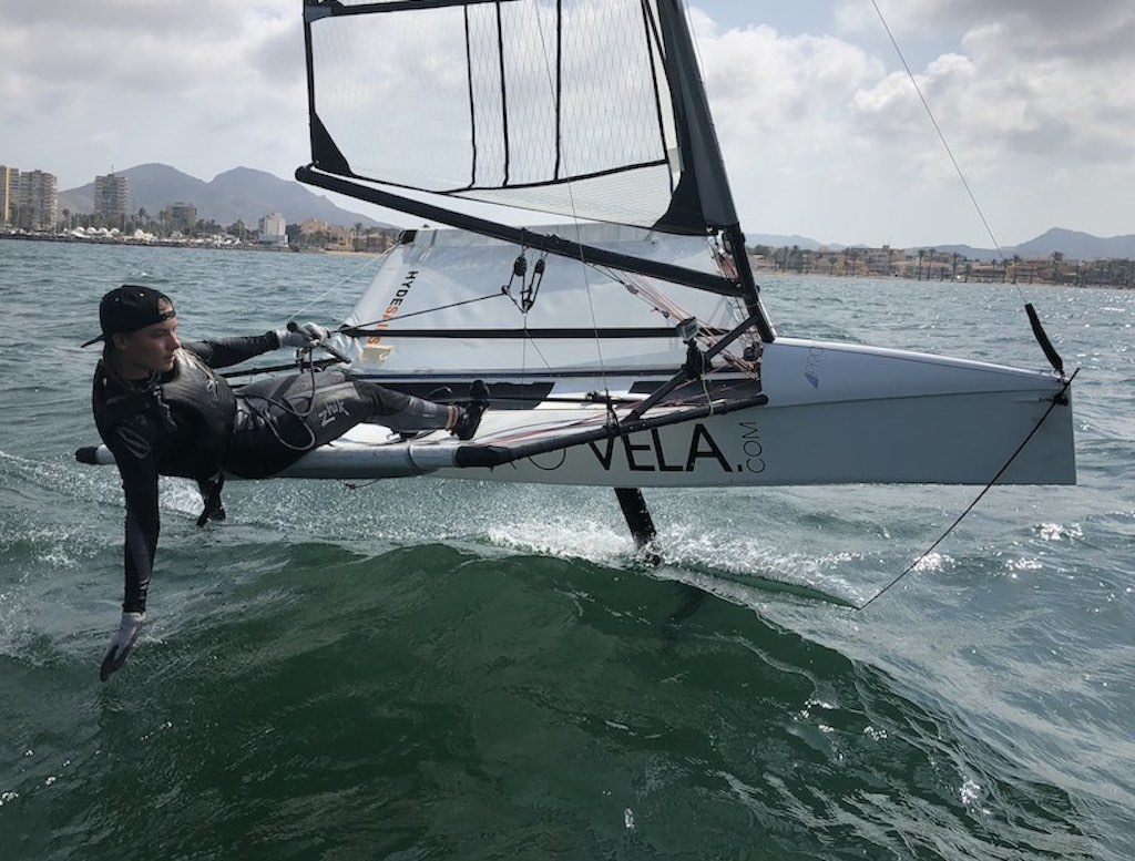 Bladerider – Intermediate Foiling Page