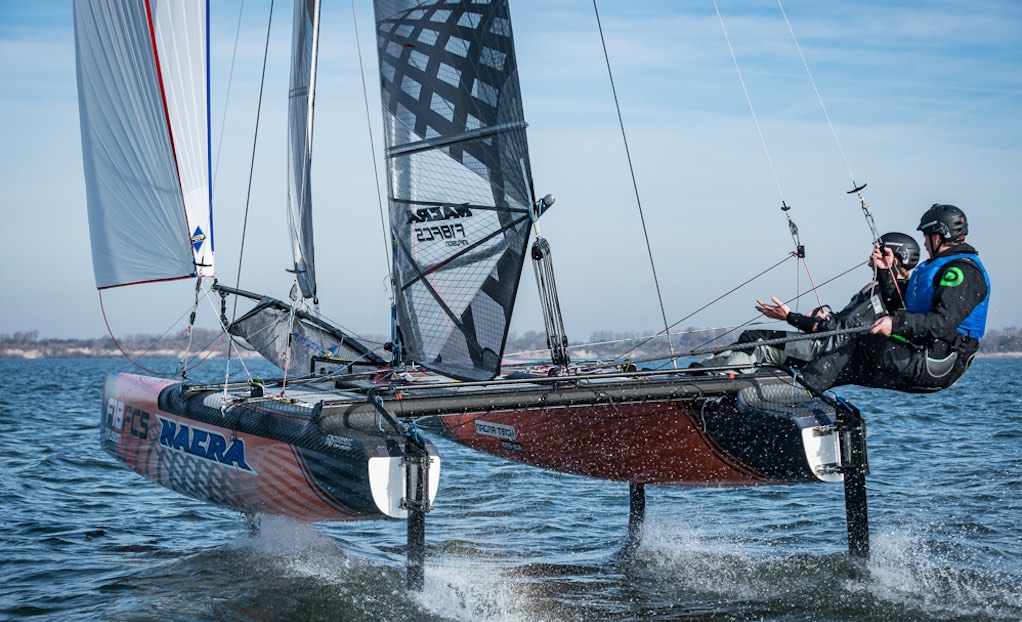 Nacra F18 FCS - Courses Page